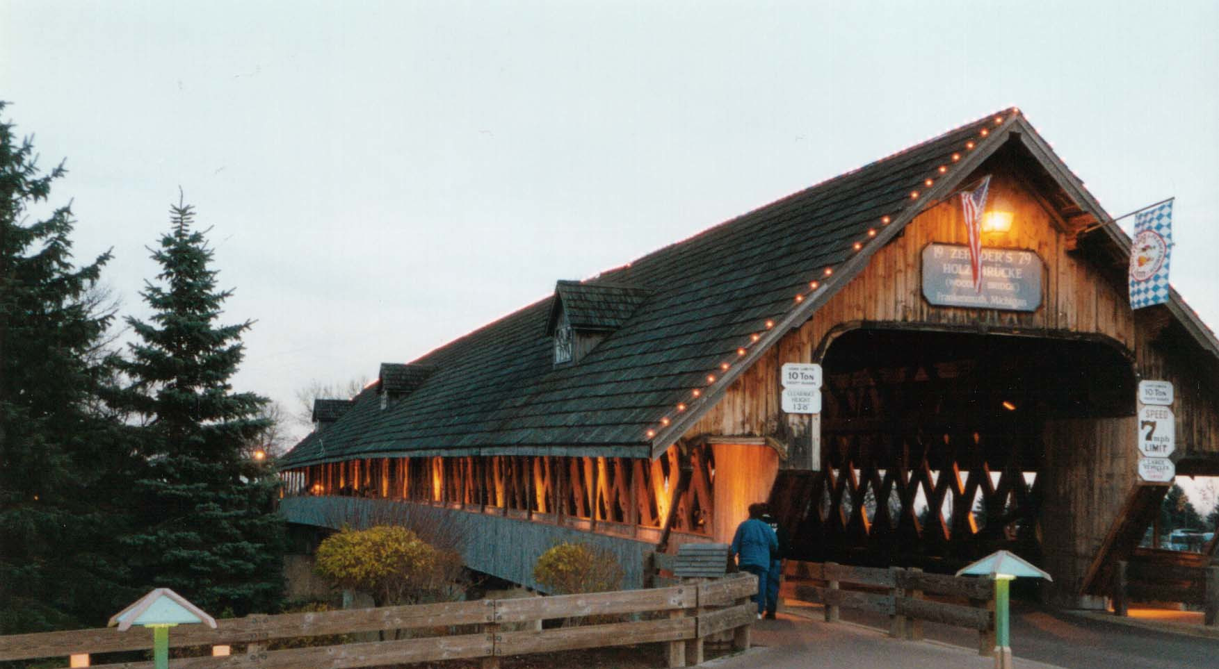 The Covered Bridge in Frankenmuth, MI