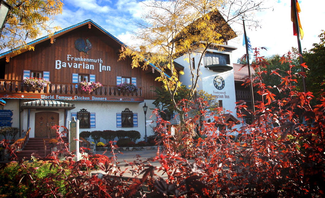 Michigan Vacation Spots Frankenmuth Mi Bavarian Inn Lodge